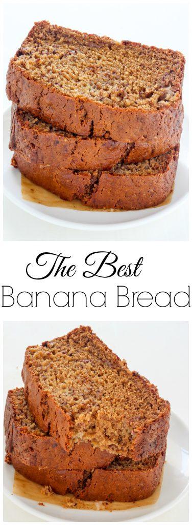 The Best Basic Banana Bread