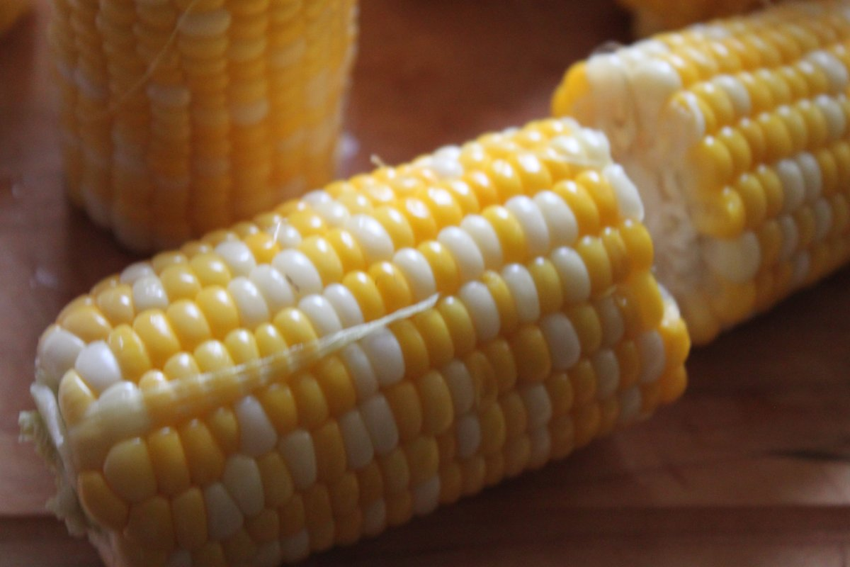 Roasted Corn with Manchego & Lime - Baker by Nature