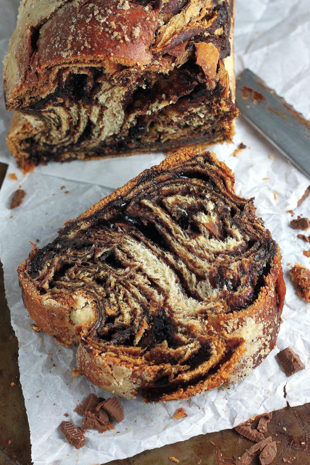 Chocolate Babka - Baker by Nature