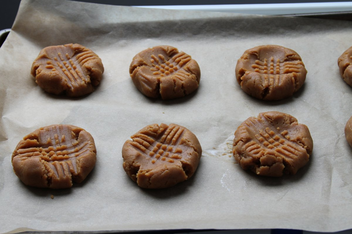 """The Treats Truck"""" Peanut Butter Cookies - Baker by Nature"""
