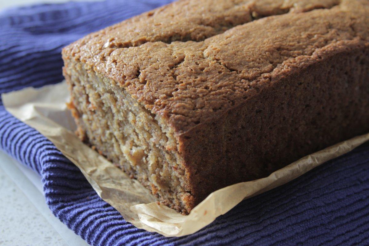 Oat Flour-Maple Banana Bread
