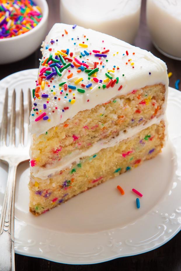 Brown Butter Funfetti Cake