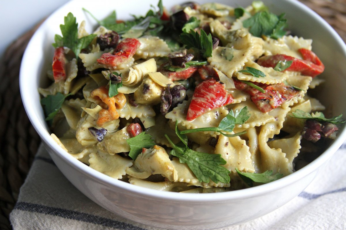 recipe: marinated artichoke hearts pasta [39]