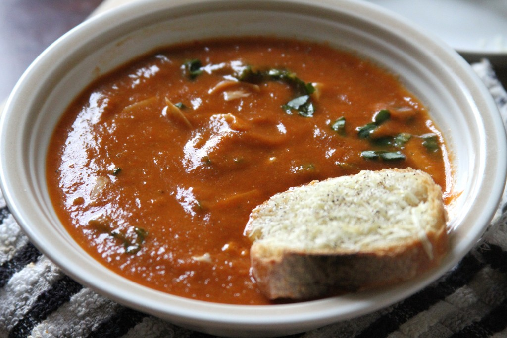 Tomato soup is just one of those classic meals that always hits-the ...