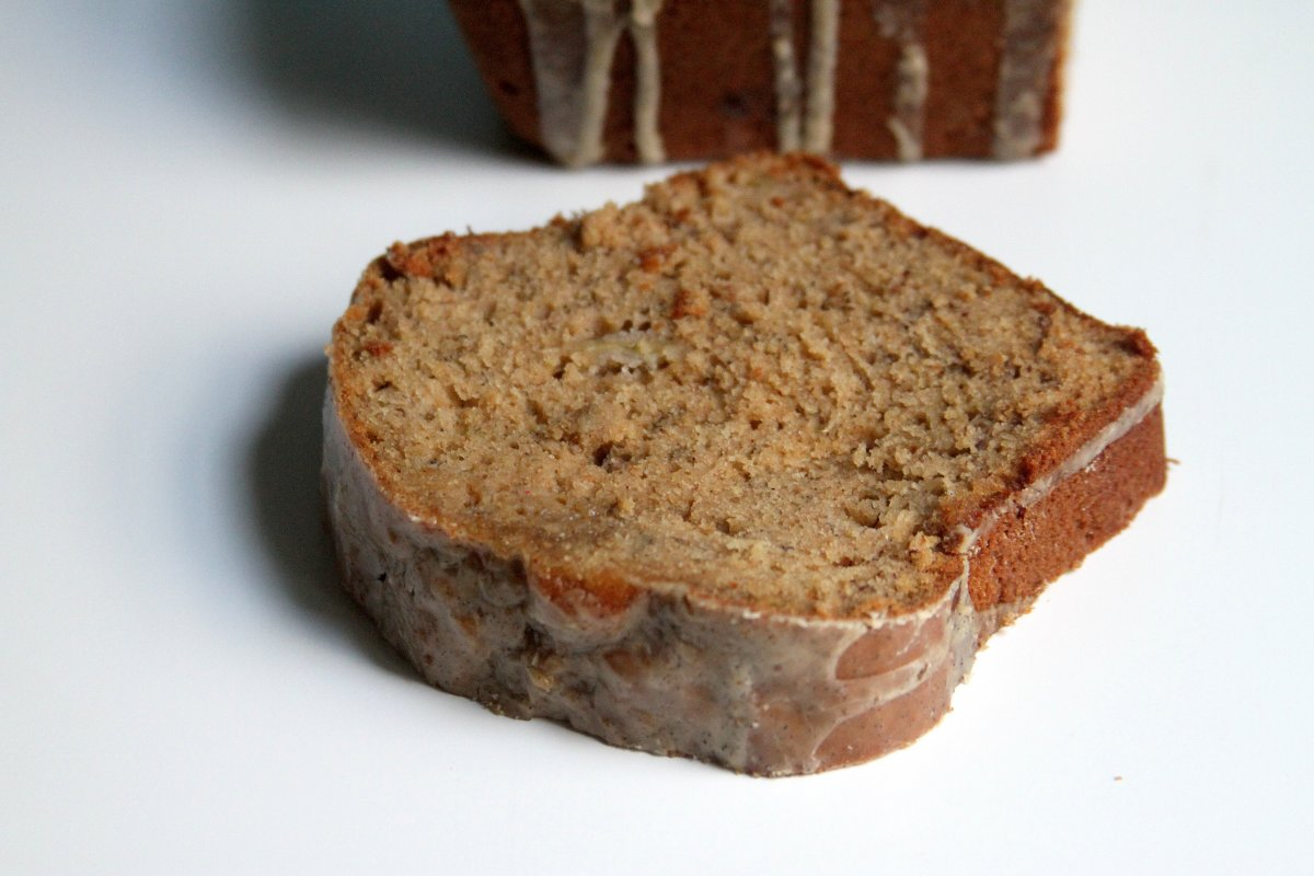Overall, this banana bread is a win. It's got bananas, olive oil ...