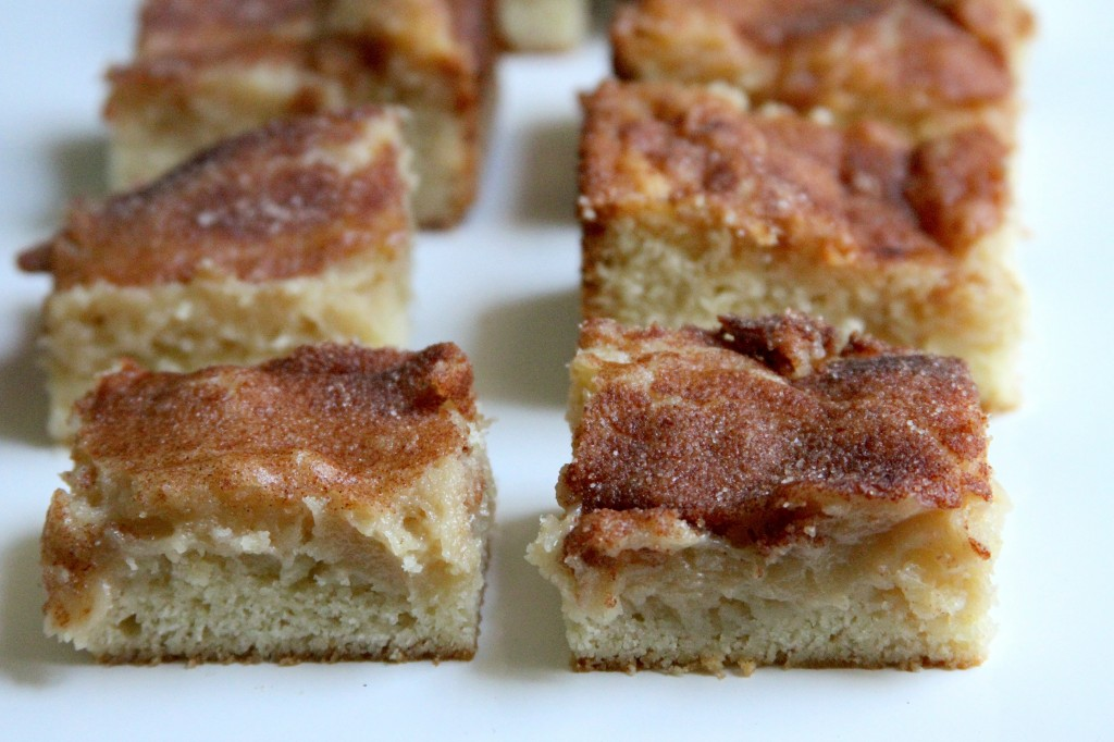 Gooey Cinnamon Squares - Baker by Nature