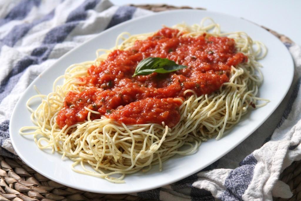 menu, we have classic pasta marinara! Marinara is one of those recipes ...