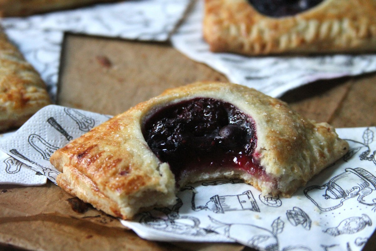 Triple Berry Hand Pies - Baker by Nature