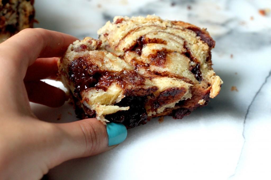 Chocolate Bacon Butterscotch Babka