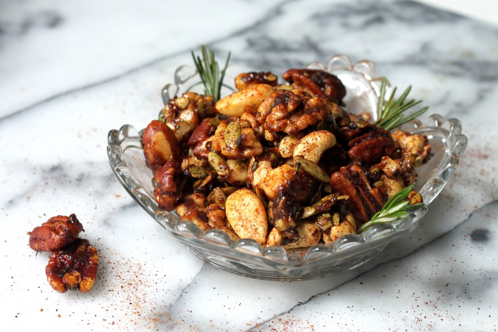 Sweet & Spicy Mixed Nuts