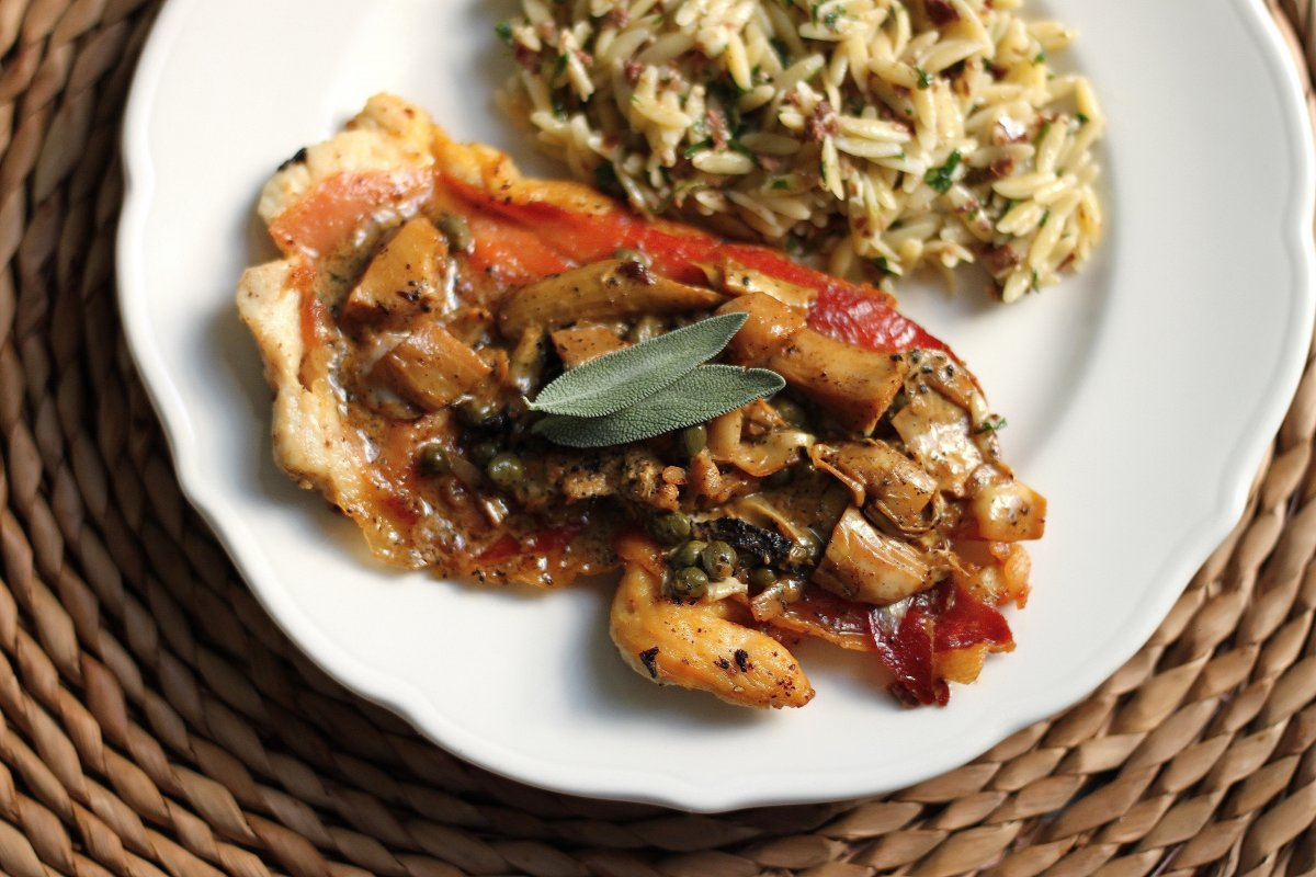 chicken chicken saltimbocca with lemon lemon and sage chicken chicken ...