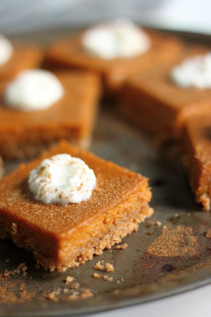 Silky Brown Butter Pumpkin Pie Bars with Brown Butter Pretzel Crust ...