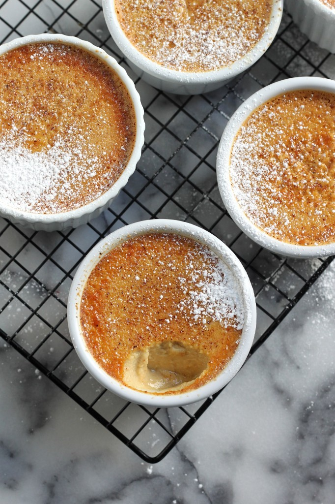 (5-Ingredient) Baked Eggnog Custard