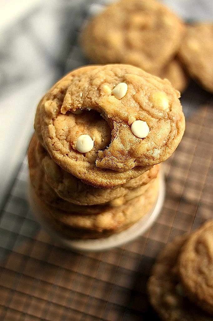Brown Sugar White Chocolate Walnut Cookies