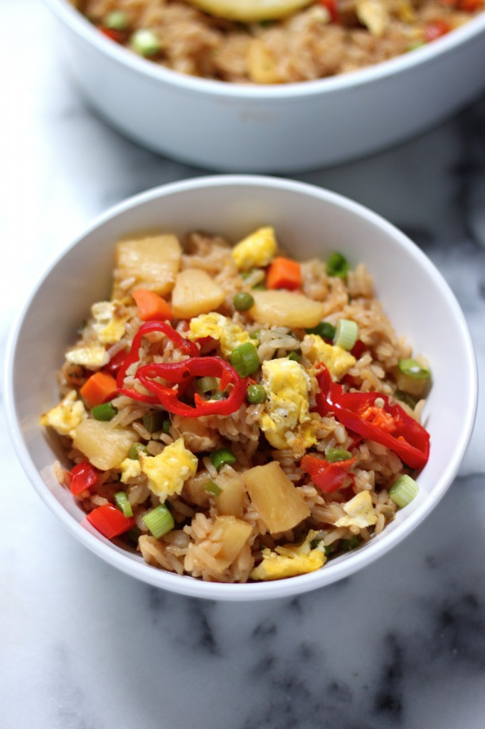 Spicy Pineapple Fried Rice