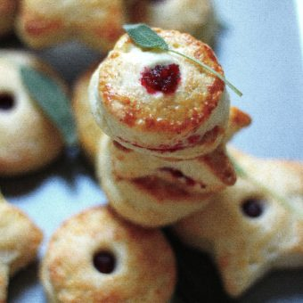 Fat and Flaky Cranberry Sage Pie Bites