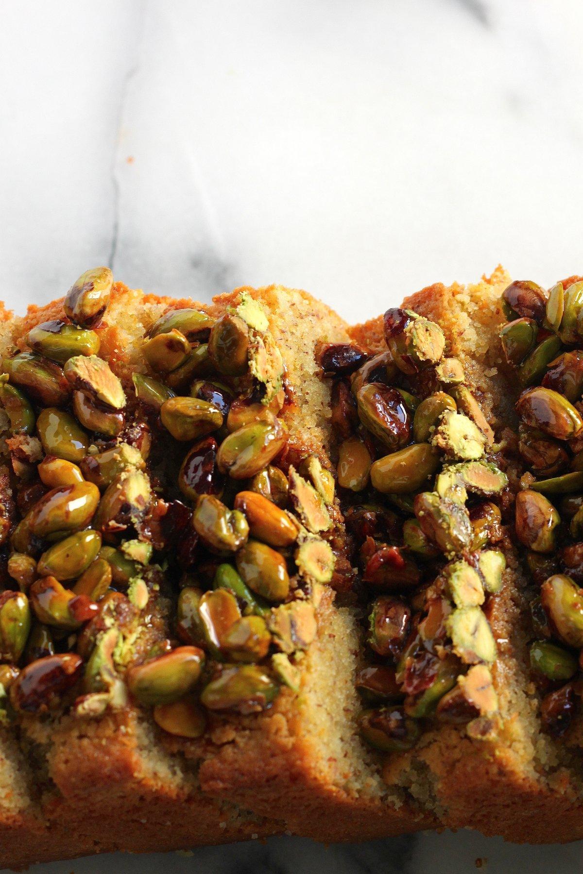 Pistachio Pound Cake - Baker by Nature