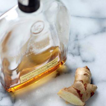 Whiskey Ginger Caramel Corn