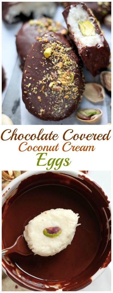 Chocolate Covered Coconut Cream Eggs