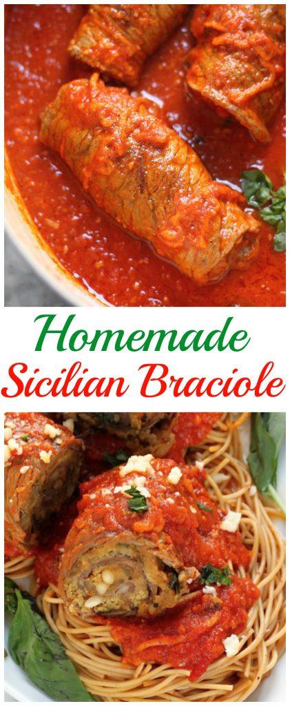 Homemade Sicilian Braciole