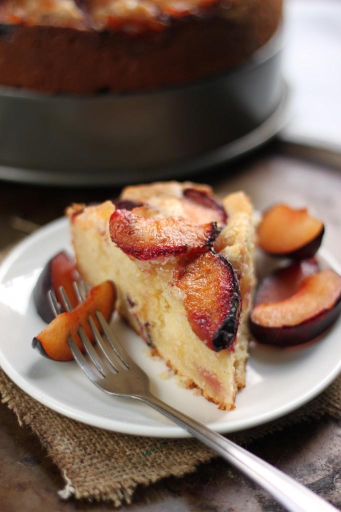 Caramelized Plum Cake