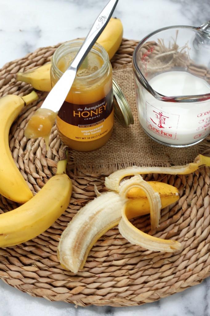 Milk and Honey Banana Bread