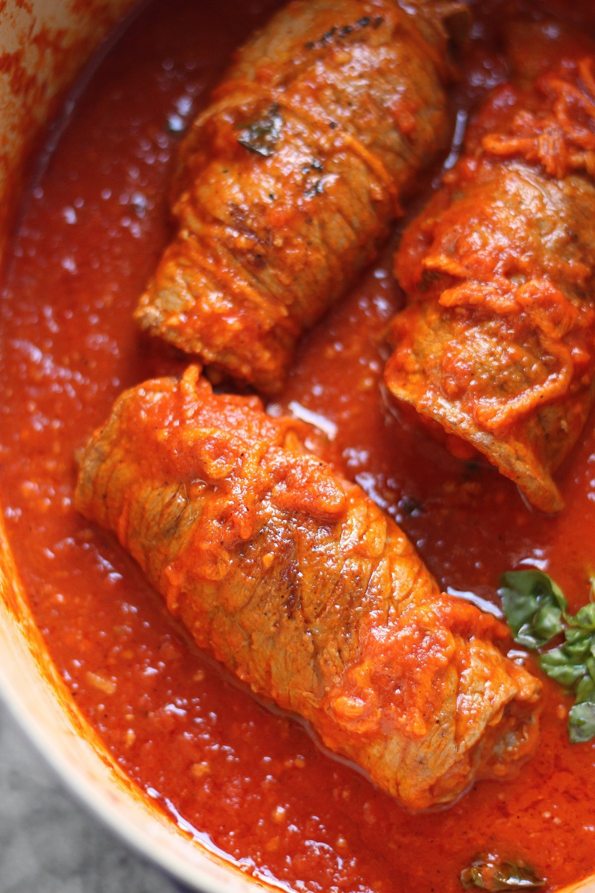 Sunday Suppers: Sicilian Braciole - Baker by Nature