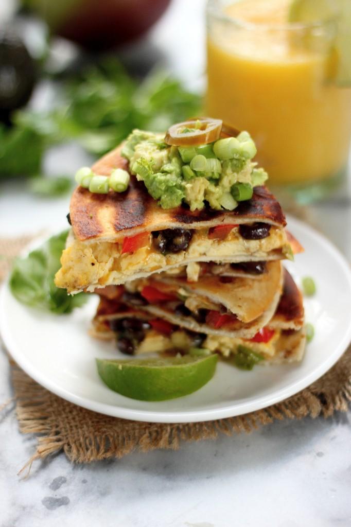 The Best Breakfast Quesadillas
