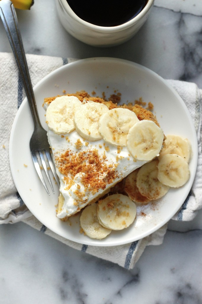 The Best Boozy Banana Cream Pie - Baker by Nature