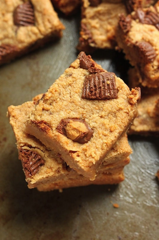 5-Ingredient Peanut Butter Blondies