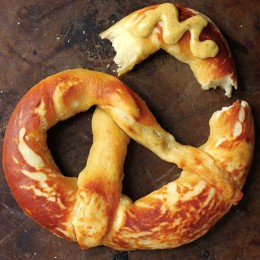 These Perfect Soft Pretzels are so chewy and delicious! Made with just a handful of basic ingredients, you'll want to make homemade soft pretzels all the time!