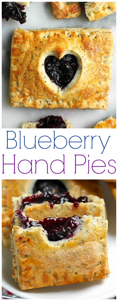 Homemade Blueverry Handpies are a Summertime favorite!