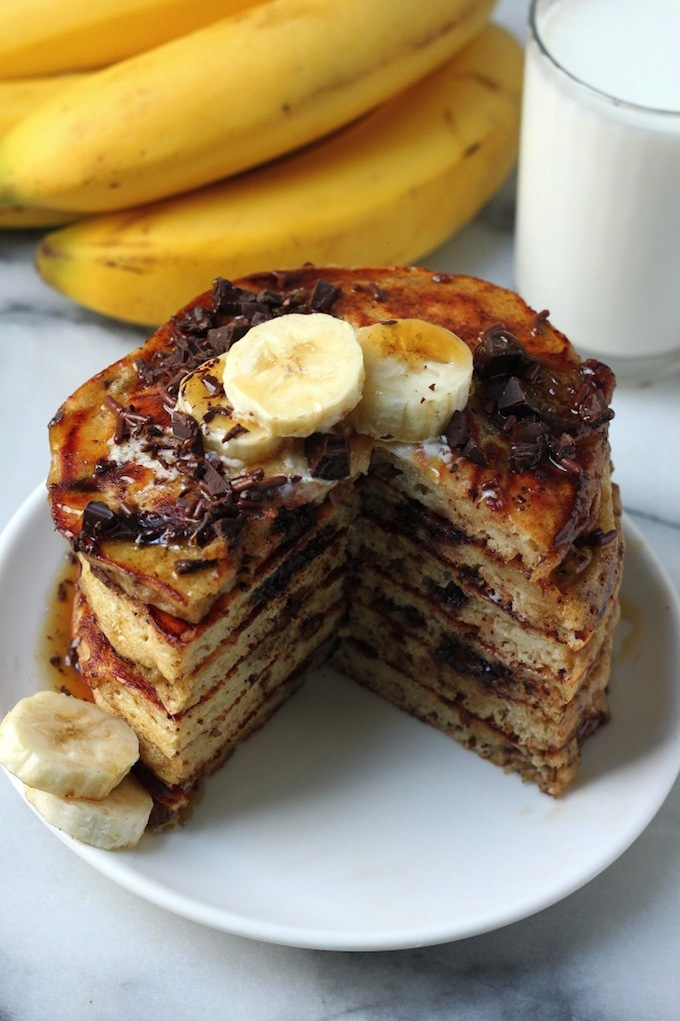 Best Ever Banana Oat Pancakes Baker By Nature