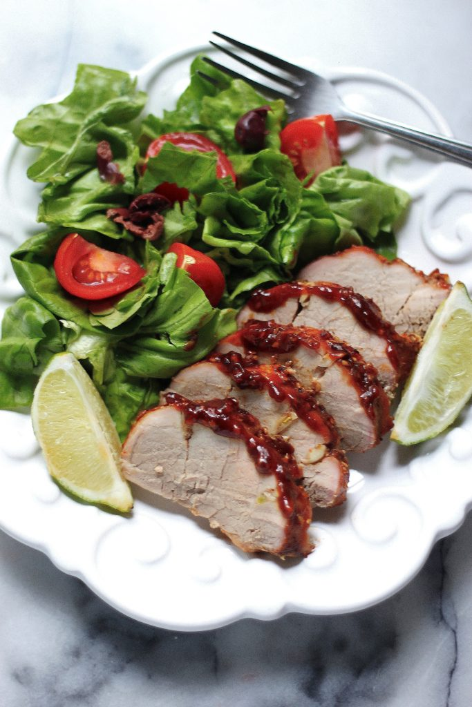 Sunday Suppers: Sweet and Spicy Sriracha Pork Tenderloin