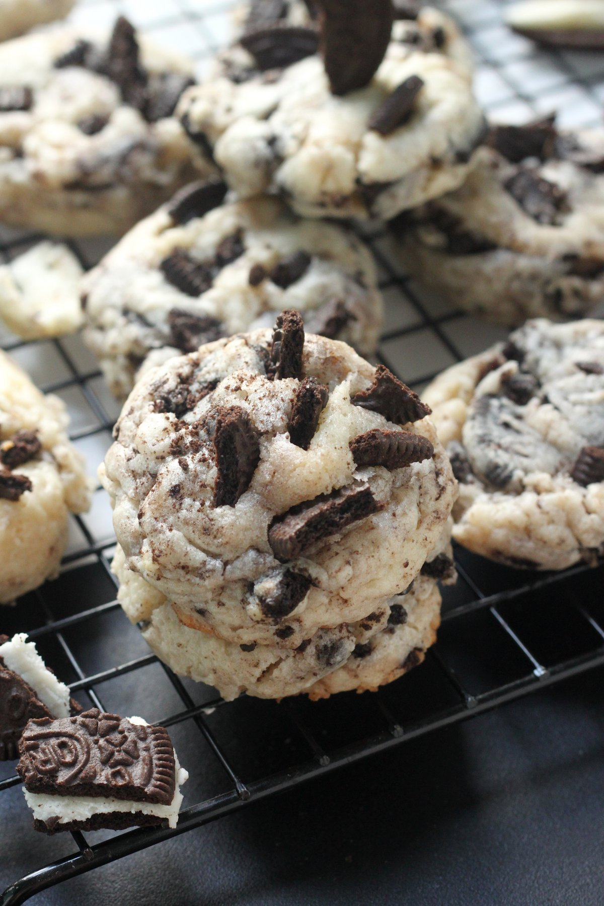 I Am Baker Cream Cheese Chocolate Chip Cookies