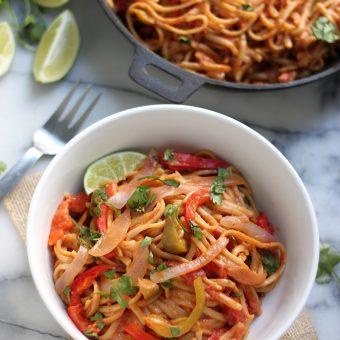 Sunday Suppers: One-Pan Veggie Fajita Pasta