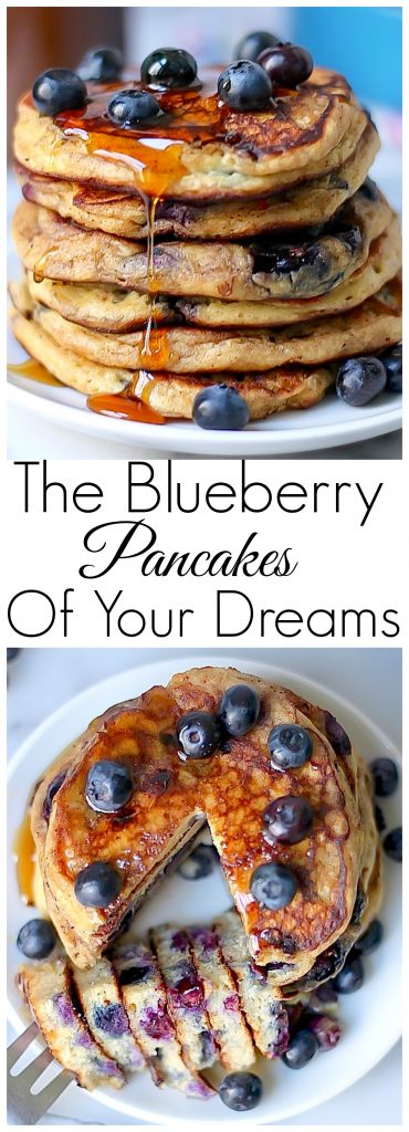 The Blueberry Pancakes of Your Dreams! These are seriously THE BEST.
