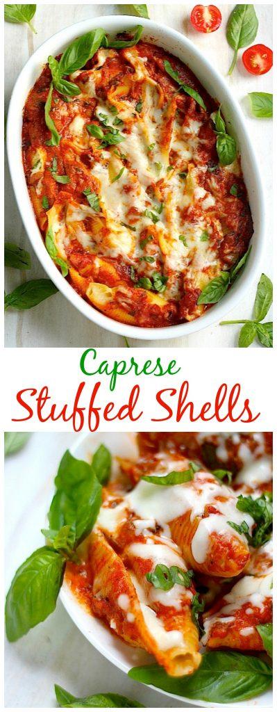 Caprese Stuffed Shells