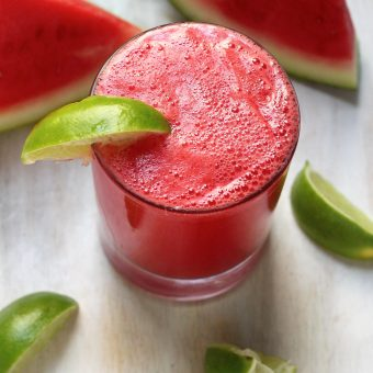 Super Refreshing Watermelon Bourbon Fizz // Reflections on 26 // and a HUGE Thank YOU