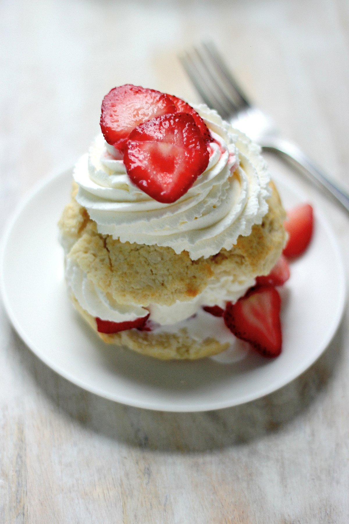 Quick and Easy Strawberry Shortcake for Two - Baker by Nature
