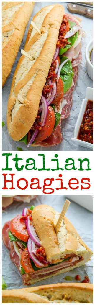 The Best Philly Style Italian Hoagies! This recipe is perfect for parties, game day, or packed lunches.