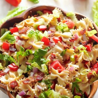 20-Minute BLT Easy Pasta Salad