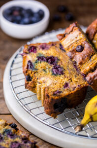 Healthy Blueberry Banana Bread Baker By Nature