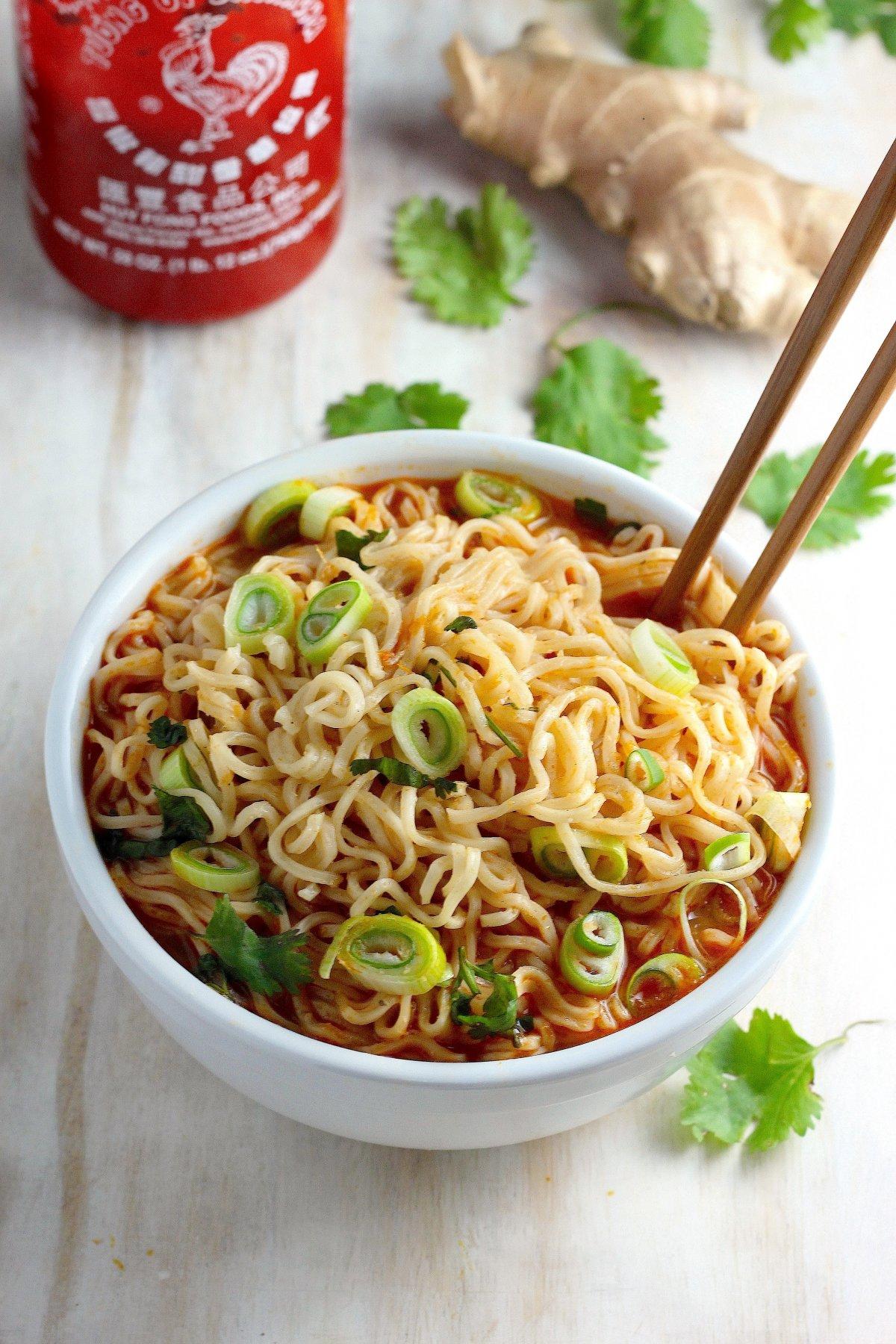 Image Gallery healthy ramen noodle soup