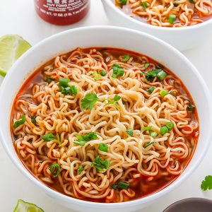 Easy Homemade Ramen Noodle Soup ready in just 20 minutes!