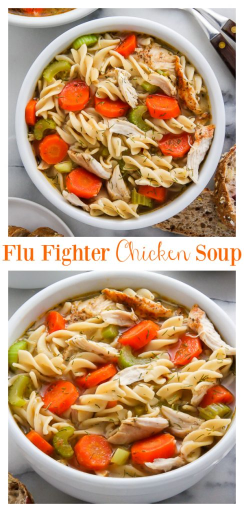 Flu Fighter Chicken Noodle Soup qsi232