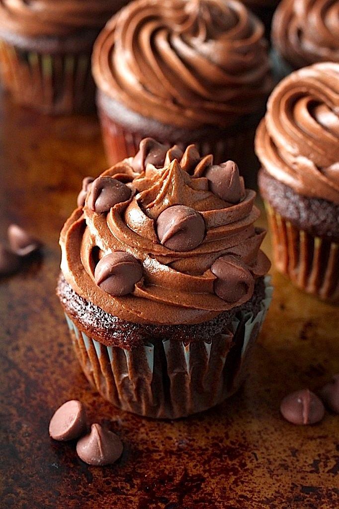 Super Decadent Chocolate Cupcakes