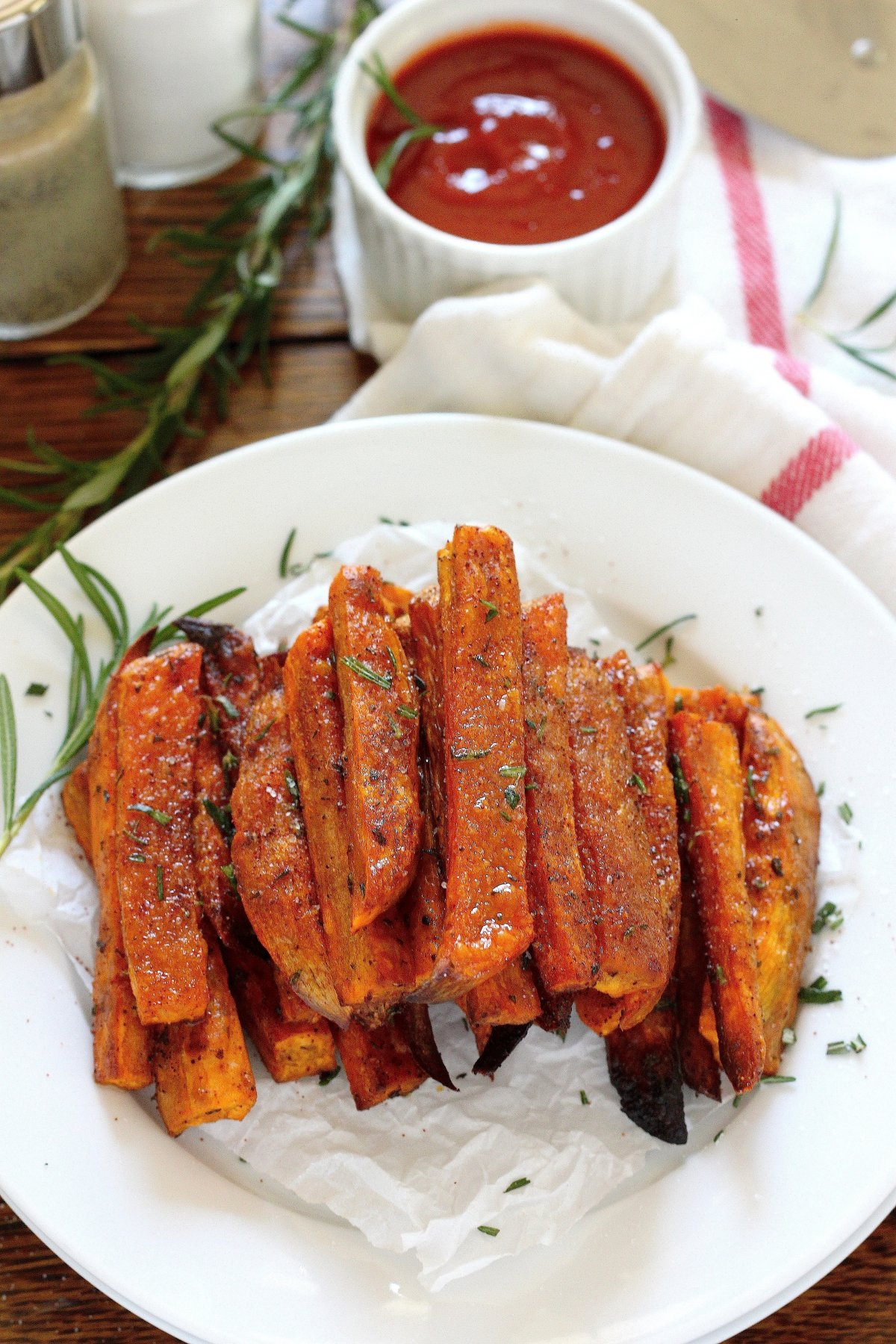 how to make extra crispy sweet potato fries