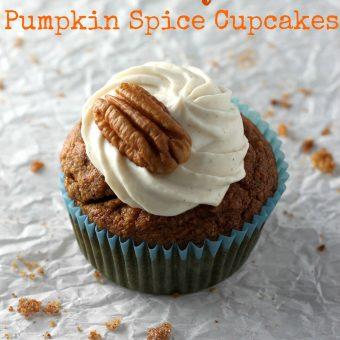 The Best Skinny Pumpkin Cupcakes