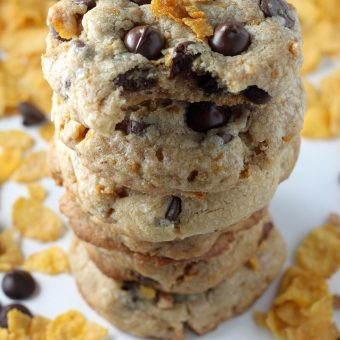 Buttered Cornflake Toffee Chocolate Chip Cookies